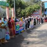 Silent demonstration at Phoolbagh